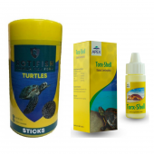 Rotifish Kaplumbağa Yemi ve Apex Kaplumbağa Kabuk Sertleştiricisi