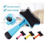 Flip Otomatik Basmalı Kedi Köpek Tarağı