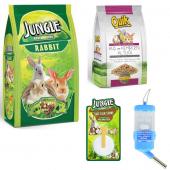 Jungle Tavşan Yem Ve Bakım Seti 4 Parça