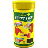 Ahm Guppy Lepistes Granul Food Balık Yemi 250 Ml
