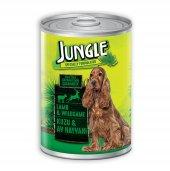 Jungle Kuzulu Av Hayvanı Parça Etli Konserve Köpek Maması 415 Gr