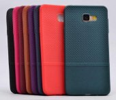 Samsung A5 2017 Matrix Deri Görünümlü Silikon Kılıf Kapak