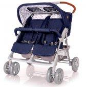 Lorelli Twin Yan Yana İkiz Bebek Arabası