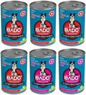 Bado Yetişkin Köpek Maması Parça Etli 415 Gr X 6 Lı Paket