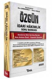 Temsil Yayınları 2020 Özgün İdari Hakimlik Soru...