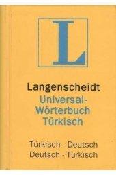 Langenscheidt Almanca - Türkçe Türkçe - Almanca Cep Sözlüğü