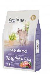 Profine Sterilised Tavuklu Kedi Maması 10 Kg