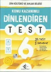 EKER 6.SINIF DİNLENDİREN TEST ( DİN KÜL.)
