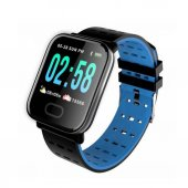 S78 Sport Smart Watch Dokunmatik Akıllı Saat Su Geçirmez (Mavi)
