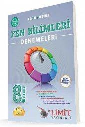 Limit Yayınları 8. Sınıf Fen Bilimleri Kronometre 12`li Denemeleri