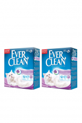 Ever Clean Lavander Topaklaşan Kedi Kumu 10 Lt X 2 Adet