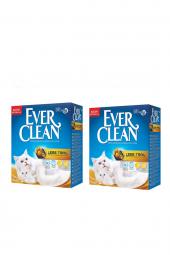 Ever Clean Less Trail(Patilere Yapışmayan)kedi Kumu 6 Lt X 2 Adet