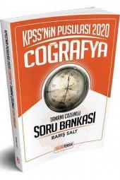 Doğru Tercih Yayınları 2020 KPSS nin Pusulası Coğrafya Tamamı Çözümlü Soru Bankası