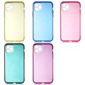 Apple İphone 11 Pro Uyumlu Bistro Renkli Şeffaf...