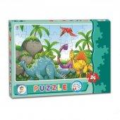Dinazorlar 24 Parça Kutu Puzzle