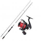 Dam Mıcroflex 2,10 m 2-10gr LRf set Sienna 2500