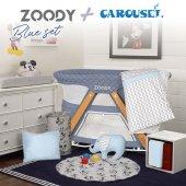 Kiwi Zoody Park Yatak Beşik & Carousel Uyku Seti