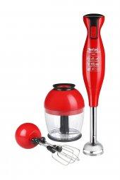 Masterblend Kırmızı 700w El Blender...