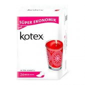Kotex Ultra Quadro Gece 24