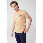 Feyza 3799 Erkek Pijama Takımı Sarı