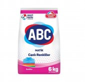 Abc Matik Çamaşır Deterjanı Renkliler 6 Kg