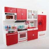 4 Lü Mutfak Seti Kırmızı