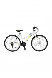 ümit 2400 Colorado 24 Jant Bayan Dağ Bisikleti Beyaz Yeşil Turkuaz