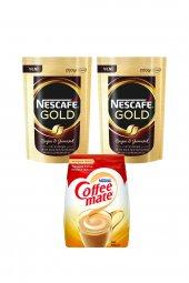 Nescafe Gold 200 Gr 2 Adet + Nestle Coffee Mate 500 Gr 1 Adet Fırsat Paketi