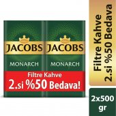 Jacobs Monarch Filtre Kahve 500 Gr 2'li