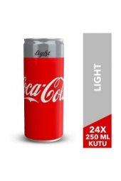 Coca Cola Light 250 Ml X 24 Adet