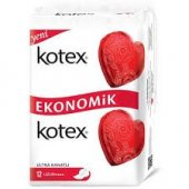 Kotex Ultra Double Uzun 12 Li