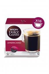 Dolce Gusto Americano 16 Adet Kapsül Kahve 100 Arabica Yoğunluk 4 9