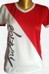 Modapalace Kanat Baskılı Türkiye Spor Tişört