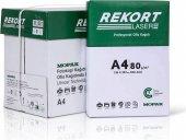 Mopak Rekort A4 80 gr 1 Koli 5x500 Yaprak Fotokopi Kağıdı