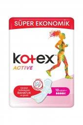 Kotex Active Quardro Uzun 18 Li