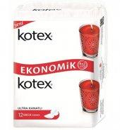 Kotex Ultra Hijyenik Ped Gece Eko Paket 12 Adet