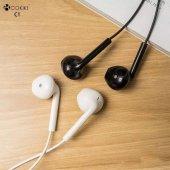 Oppo Ax7 Kulaklık Cokike 3.5mm Mikrofonlu Kulak İçi Silikonsuz