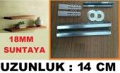 14 Cm Uzunluk Gizli Raf Tutucu Mekanizması 18mm Sunta İçin