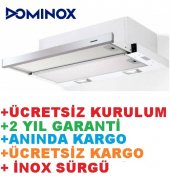Dominox İnox Sürgülü Mutfak Aspiratörü +kurulum...