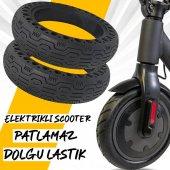 Elektrikli Scooter Dolgu Dış Lastik Tekerlek