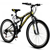 Kldoro Kd 029 26 Jant Bisiklet 21 Vites Çift Amortisör Erkek Dağ Bisikleti