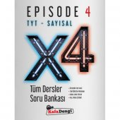 Kafa Dengi TYT Tüm Dersler Sayısal Soru Bankası 4. Kitap