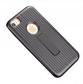 Teleplus iPhone 7 Bracket Standlı Mıknatıslı Kapak Kılıf