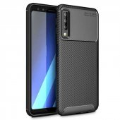 Teleplus Samsung Galaxy A7 2018 Ultra Koruma Negro Silikonlu Kılıf  + Nano Ekran Koruyucu
