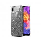 Teleplus Samsung Galaxy A30 Kılıf Shining Simli Silikon