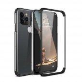 Teleplus iPhone 11 Pro Max Kılıf 360 Ön Arka Cam Darbe Korumalı Silikon
