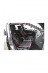 Honda Civic SPACE BUMERANG Minder 2 li Set Ön Takım SİYAH KIRMIZI ŞERİTLİ 2006-2012