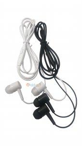Aspor 3.5mm Gürültü Engelleyicili Mikrofonlu Siyah Beyaz Kulaklık