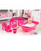 Bebek Banyo Seti Pembe