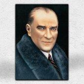 İyi Olsun Atatürk Portresi Kanvas Tablo 70  x 100 cm